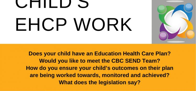 SNAP PCF MAKING MY CHILD'S EHCP WORK LEARN ABOUT OUTCOMES, MONITORED & ACHIEVED- WHAT DOES THE LEGISLATION SAY? JUNE 10TH 6-8PM @ HENLOW PARK PAVILLION